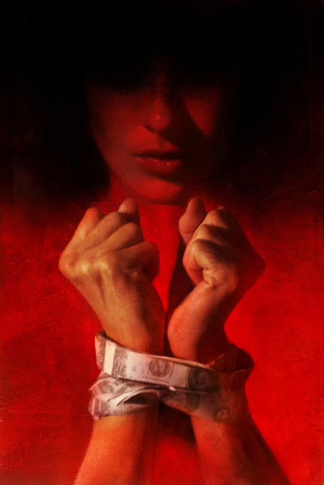 Robert Hunt, Illustration, human trafficking,