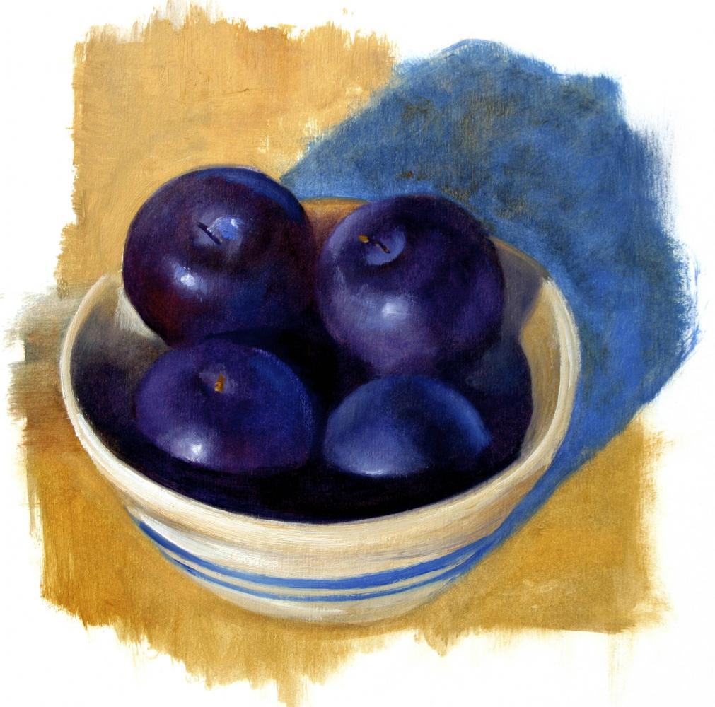 Robert Hunt, william carlos williams, poetry, artwork, art, illustration, plums