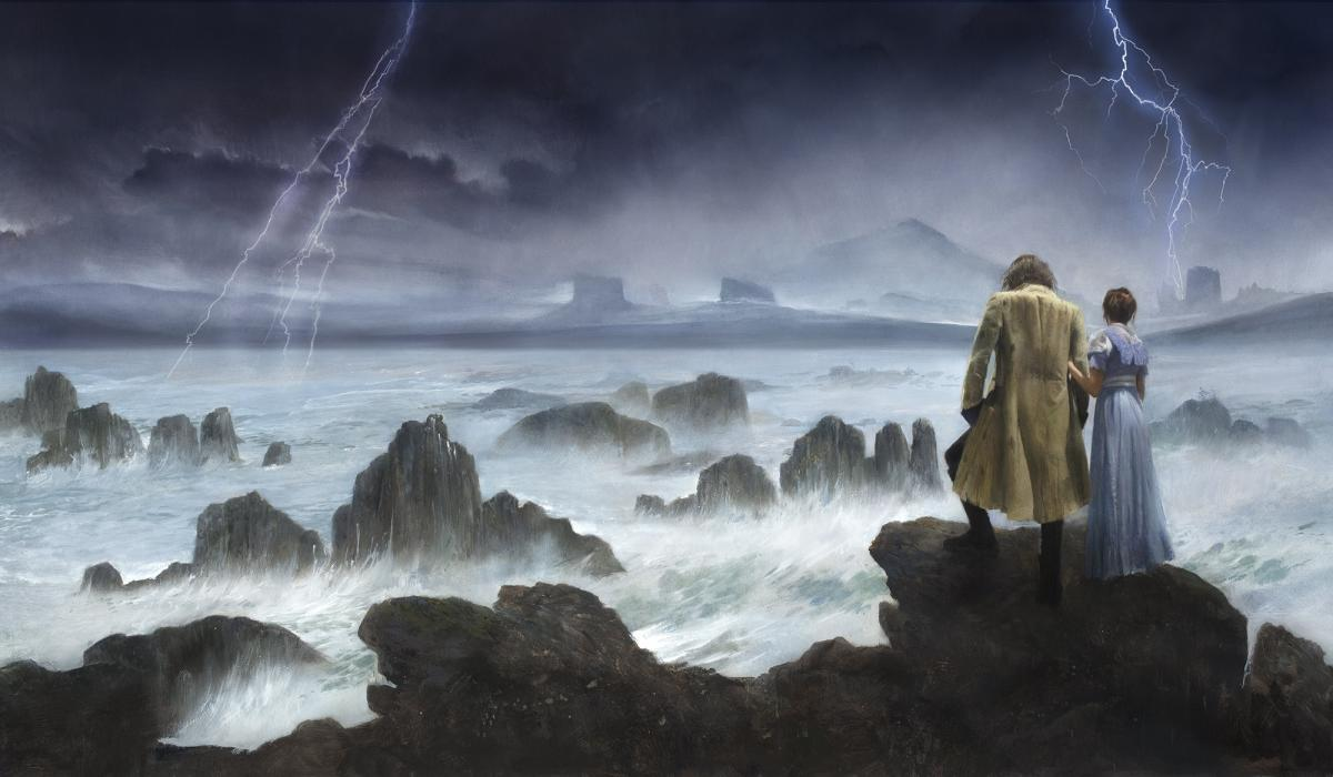 Robert Hunt, Cover, Illustration, pride and Prometheus, caspar david friedrich