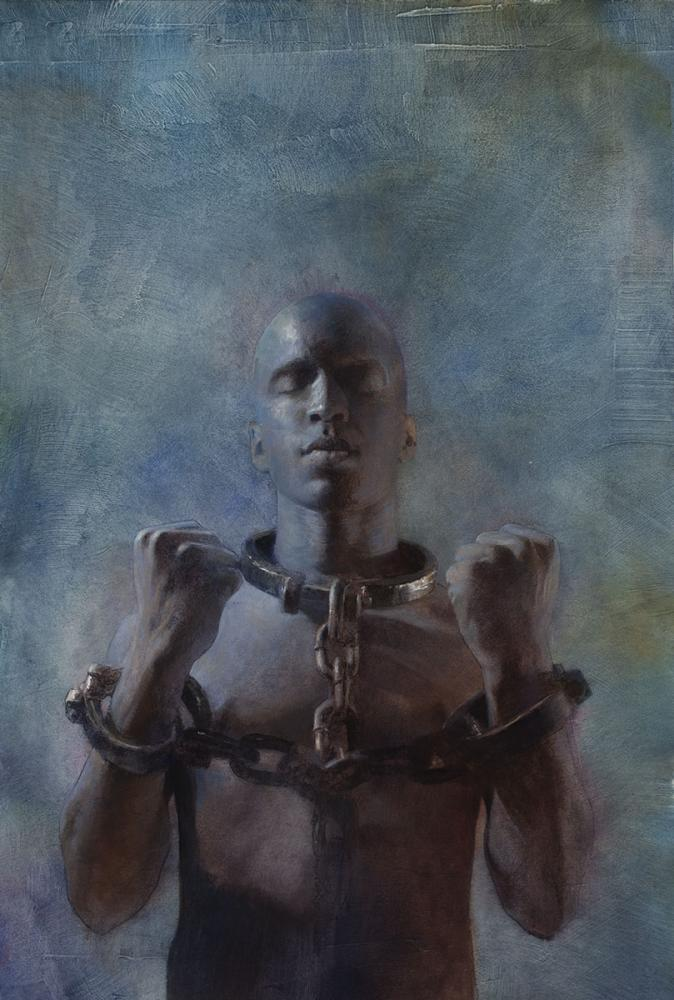 Robert Hunt, Slavery, african american, painting, illustration