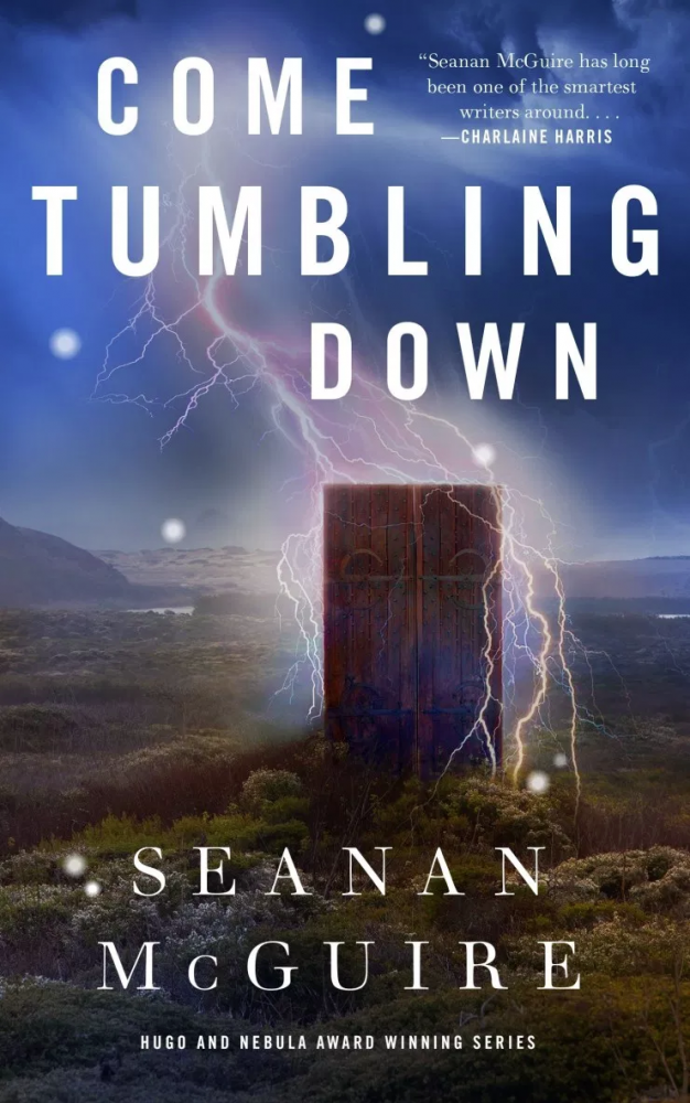 Hunt' Robert hunt' book cover, illustration, come tumbling down, Seanan McGuire, Tor.com