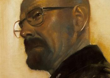 Robert Hunt, Walter White, breaking Bad, portrait