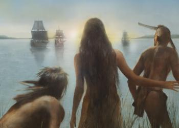 Robert Hunt, The New World, Criterion, Painting, illustration
